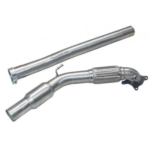 Cobra Sport Audi A3 (8P) 2.0 TFSI Quattro (3 Door) 04-12 Front Pipe & Sports Cat Section (200 Cell)